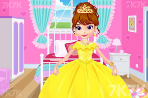 《索菲亚的舞会礼服》游戏画面1