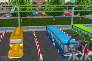 《3D巴士停车场2》游戏画面4