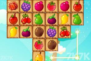 《萌新水果连连看》游戏画面1