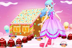 《可爱女孩的糖果小屋》游戏画面1