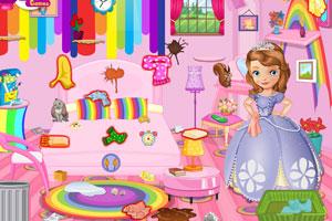 《索菲亚打扫彩虹房》游戏画面1