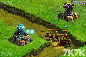 《星際塔防戰中文版》游戲畫面5