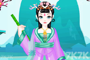 《中国公主的装扮》游戏画面1
