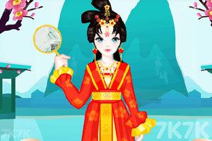 《中国公主的装扮》游戏画面3
