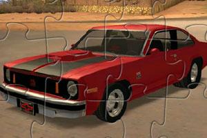 《新星汽车拼图》游戏画面1