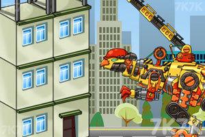《修理机械鹦嘴恐龙》游戏画面2