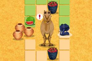 《饥饿的小蛇》游戏画面2
