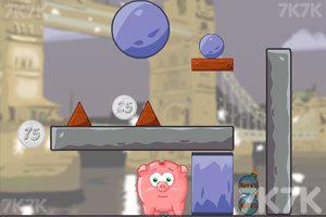 《吃金币的小猪》游戏画面1