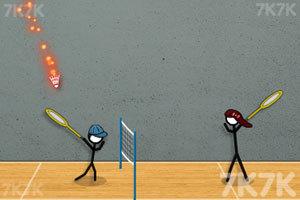 《火柴人打羽毛球3》游戏画面4
