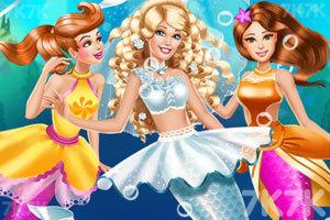 《人鱼公主结婚啦》游戏画面2