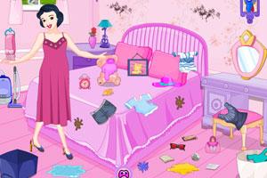 《白雪公主房间清洁》游戏画面1