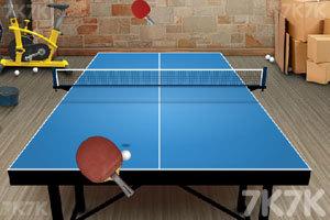 《乒乓球挑戰大賽》游戲畫面3