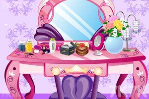 《居家女孩的梳妆台》游戏画面2