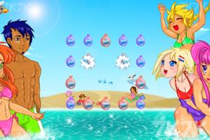 《夏日泡泡》游戏画面1