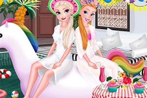 《女孩泳池开派对》游戏画面1