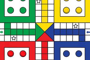《四人飞行棋》游戏画面1