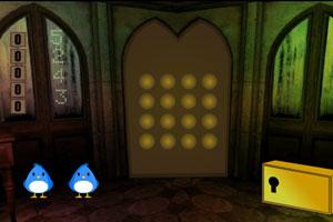 《逃离神秘森林洞穴》游戏画面1