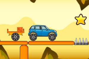 《吉普车过木桥》游戏画面1