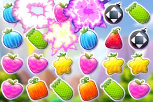 《水果疯狂消消看》游戏画面1