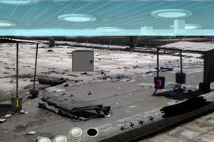 《逃离废弃机场》游戏画面1