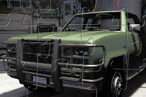 《山猫卡车拼图》游戏画面1