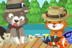 《钓鱼比赛》游戏画面1
