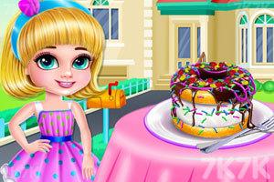《冰淇淋甜甜圈烹饪》截图2