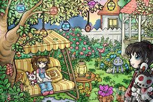《女孩与巫毒娃娃中文版》游戏画面2