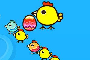 《快乐的小鸡》游戏画面1