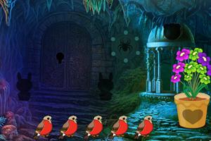 《洞穴救援狮子》游戏画面1