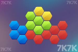 《填补六边形》游戏画面2