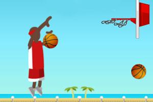 《街道投篮练习》游戏画面1