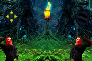 《感恩花园逃脱》游戏画面1