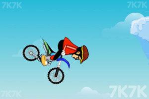 《雪地自行车》游戏画面3