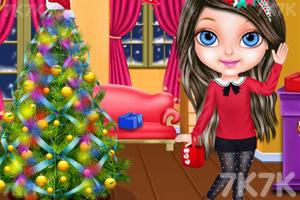 《和宝贝一起过圣诞》游戏画面2