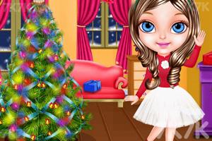 《和宝贝一起过圣诞》游戏画面1