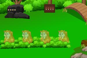 《逃离绿森林小屋》游戏画面1