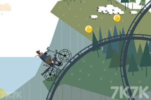 《自行车越野赛》游戏画面4