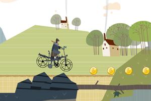 《自行车越野赛无敌版》游戏画面1