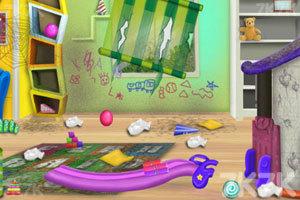 《幼儿园清洁》游戏画面2