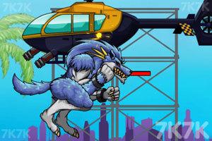 《愤怒的怪兽》游戏画面2