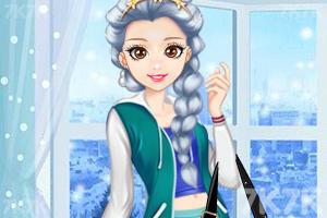 《时尚奥莉的甜美秋装》游戏画面2