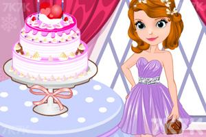 《索菲亚的派对蛋糕》游戏画面3