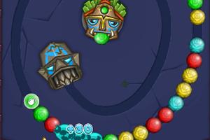 《五彩弹珠祖玛》游戏画面1