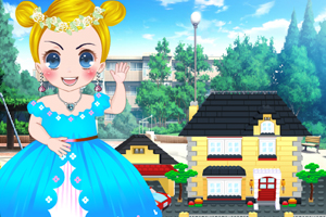 《小公主玩乐高》游戏画面1
