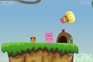 《小熊采蜂蜜》游戏画面5