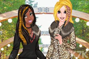 《酷爱豹纹的女孩》游戏画面2