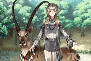 《手绘古风美少女》游戏画面2