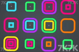 《消除五彩光环》游戏画面1
