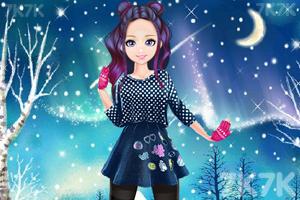 《甜美奥莉去滑雪》游戏画面3